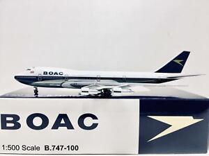 Big Bird / Herpa Scale 1:500 BOAC Boeing 747-100 G-AWNA