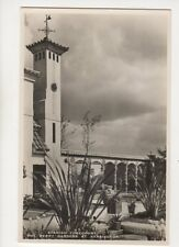 Spanish Forecourt Derry Gardens At Kensington London RP Postcard 155b
