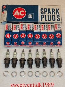 'NOS'...1961-1968 Corvair AC-R46FF Spark Plugs...GM 5612605