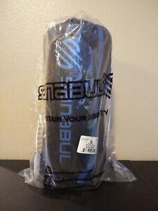 Sanabul Essential Hybrid Kickboxing MMA Shin Guards Size: L/XL (Blue)