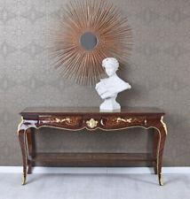 Couchtisch Barocktisch Intarsien Beistelltisch Tischkonsole Wandtisch Antiktisch