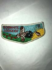 Boy Scout  BOBWHITE LODGE 87 PATCH