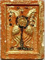 PALADKIK CHARM PHRA LP YID RARE OLD THAI BUDDHA AMULET PENDANT MAGIC ANCIENT#37