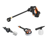 WORX WO7073 20V Power Share Hydroshot Portable Power Cleaner w/ Auto & Boat Kit