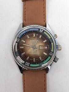 Grand Prix De Luxe Vintage Rare Watch Colareb Running Swiss Antimagnetic Retro