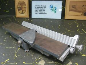 small 4-in. jointer for woodworking, by AMT