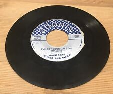 Wayne & Ray ‎– I've Got Your Love On My Mind / Yea Why? 1960 Rockabilly Bopper