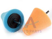 AA AUTO PARTS T60 Medium Cut Blue Car Wheel Hub Care Polishing Cone