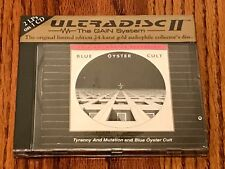 BLUE OYSTER CULT TYRANNY & MUTATION MFSL 24-KARATE Gold DOUBLE ALBUM CD