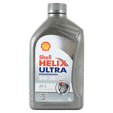 Shell Helix Ultra Professional AF-L 5w-30 Fully Synthetic Engine Oil 1 Litre 1L