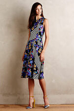 NWT - ANTHROPOLOGIE - KAREN WALKER - Ephemere Dress - size 0 (Gold) $598