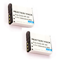 TWO 2X GB-60 Batteries for GE General Imaging Power Pro X600 Digital Camera