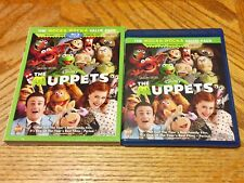 Disney Blu Ray Used W/ Slipcover The Muppets Wocka Wocka Value Pack DVD Vault