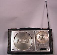 vintage Binatone crossworld 9 transistor radio MW & LW  1960s  working