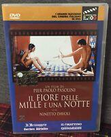 IL Fiore delle Mille e Una Notte DVD Editoriale Pier Paolo Pasolini Come Foto N
