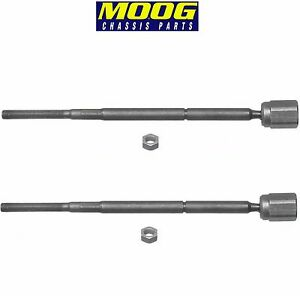 For Ford Mercury Tracer Pair Set of 2 Front Inner Steering Tie Rod Ends Moog
