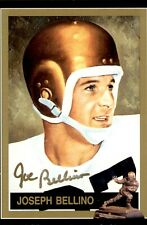 Joseph Bellino Signed 1991 Heisman Collection #26 Autographed Navy 58992