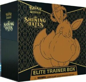 Pokemon Shining Fates Elite Trainer Box Factory Sealed
