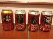 "Lattine Coca-Cola 330 ml""We all speak football"" Italy Vecchio formato 06(Leggi)"