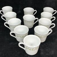 Lot of 11 Sheffield China Elegance Coffee Tea Cups Fine China of Japan