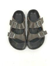 Birkis Brown Plastic Waterproof Arizona 2 Strap Sandal Shoes Size 8 39 (O5)