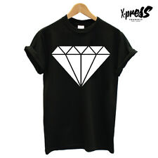 DIAMOND PRINT T-SHIRT TOP RELIGION ICON GRAPHIC OBEY MENS GIRLS SWAG TEE UNISEX