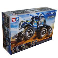 Tamiya 1:18 G6-01 Konghead 6x6 Monster Truck EP RC Cars Kit 4WS #58646
