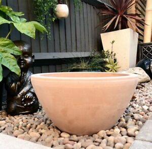 Terracotta Planter Washed Clay Plant Pot Garden Tub Frost Proof Flower Seed Pot