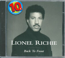 Lionel Richie. Back to Front (1992) CD NUOVO All Night Long Easy Say You, Say Me