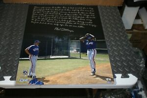 NY METS MEL STOTTLEMYRE SIGNED 16X20 STORY BOOK PHOTO W/DWIGHT GOODEN STEINER