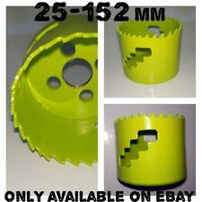 Bi-Metal Hole Saw 25-152mm Wood Plastic BiMetal Trade Cobalt Holesaw Set Cutter