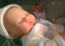 "BERENGUER BABY DOLL 10"" REAL BOY AGE 2+ NRFB OPENED MOUTH SEXED"