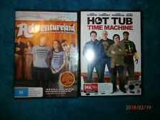 2 Comedy Movies (DVDs) Adventureland / Hot Tub Time Machine - John Cusack