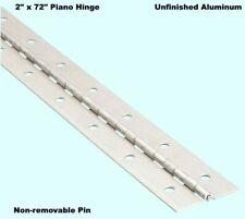 "inch thick  1//4 inch pin 3//32 5 inch Aluminum Piano Hinge 1/""x 1/""x  .090/"""