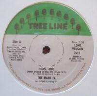 "THE MARK IV ~ HORSE RIDE (1980) TREELINE 3712 ~ RARE BOOGIE FUNK SOUL 12"" NM"