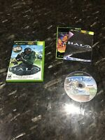 "Halo Combat Evolved Shooter Video Game For Microsoft XBOX ""Game Of The Year CIB"