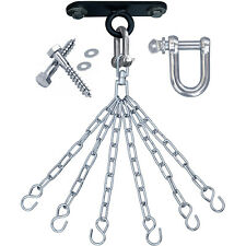 RDX Punch Bag Ceiling Hook With Chains,Swivel,Steel Wall Bracket Boxing  6S CA