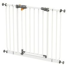 BABY SAFETY GATE PET DOG CHILD DOOR STAIR SECURITY BARRIER KIDS PLAY NEW WHITE