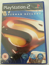 Superman Returns For Sony PS2 (New & Sealed)