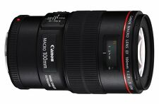 Canon EF 100mm f/2.8 L Macro IS USM Lens 100 F2.8 for EOS 6D 5D Mark III IV 1Dx