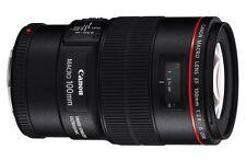 Canon EF 100mm f/2.8 L Macro IS USM Lens 100 F2.8 for EOS 6D 5D Mark III IV 1Dx