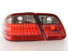 Coppia Fari Fanali Posteriori Tuning LED Mercedes classe E (W210) 95-98, rosso/n