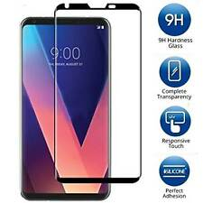 For LG V30 - 3D Curved FULL COVER Tempered Glass Screen Protector Guard Shield