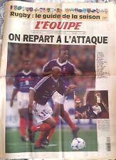 L'Equipe Journal 18/8/1999; Rugby; le guide de la saison/ France-Irlande