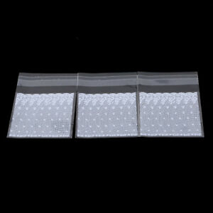 Birthday Party Accessories Biscuit Packaging Bag White Transparent Cookie Bag LP