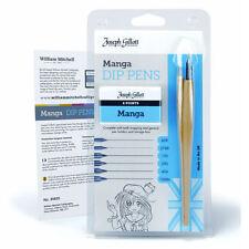 Joseph Gillott Manga Ink Dip Pen Set