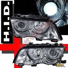 99 00 01 BMW E46 323i 328i 4DR SEDAN PROJECTOR HEADLIGHTS 6000K