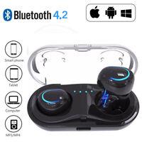 Bluetooth sans fil casque de i8tws écouteurs pour iPhone Samsung+Cas de Chargeur