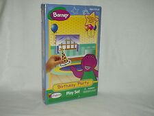 BARNEY THE PURPLE DINOSAUR Colorforms BIRTHDAY PARTY Play Set 1997 NIP ~~ sealed