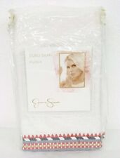Jessica Simpson Puebla Ivory Embroidered Euro Pillow Sham 26X26in New Nip $39.99
